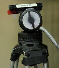 "Sachtler ""Video 20"" Tripod with Fluid Head, QR Plate - See Description!"