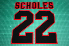 Manchester United 95/96 #22 SCHOLES AwayKit Nameset Printing