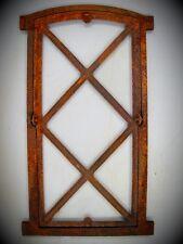 Window Cast Iron Rusty H 76x43cm Window Cast Iron Vintage Gift House + Yard