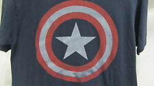Mad Engine Marvel T Shirt - Captain America mens M ~ EUC *flawless*