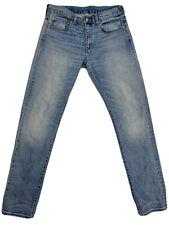 J Crew 484 Slim Stretch Jeans, Light Wash 32w 34L