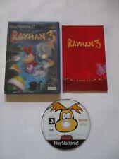 PS2 - Rayman 3: Hoodlum Havoc - Hologramme Étui