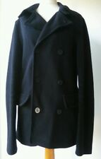 ZARA YOUNG Navy COAT JACKET cotton Medium UK8/10 Excellent Condition