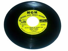 GINNY ARNELL ~ GIRL 45 RPM I'M SO AFRAID OF LOSING YOU / I'M GETTING MAD PROMO!