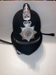 CHRISTYS LONDON Bobby Felt Hat in Black Northumbria Police 7.3 To 7.5 Costume