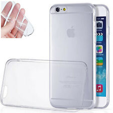 For iPhone 6 Plus Soft Silicone TPU Ultra Thin Slim Clear Transparent Cover Case