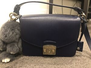 Furla Metropolis Shoulder Bag Navy