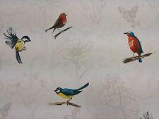 Clarke and Clarke Titchwell Birds Designer Curtain Upholstery Craft Fabric