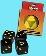 LEGION SUPPLIES 9 die set D6 16mm TRI-FORCE Iconic Dice w/ Matching Tin rpg