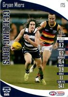 ✺Mint✺ 2020 GEELONG CATS AFL Card GRYAN MIERS Teamcoach