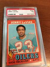 1971 Topps Football PSA 7 Jerry LeVias #240