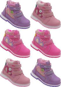 Mädchen Boots Kinder Winter Schuhe Stiefel warm gefüttert Gr. 22 - 27 Nr. 712