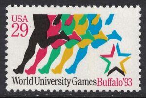 Scott 2748- World University Games, Buffalo NY- MNH 1993- 29c mint unused stamp