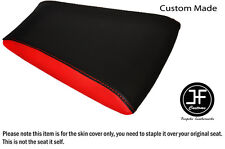 RED & BLACK AUTOMOTIVE VINYL CUSTOM FITS RIEJU RS3 125 REAR SEAT COVER ONLY