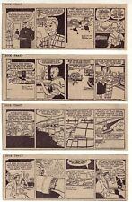 Dick Tracy by Chester Gould - 26 daily comic strips - Complete March 1957