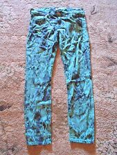 Womens Textile Elizabeth And James Skinny Snakeskin Print Jeans 28