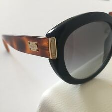 New ListingVersace Women s Sunglasses VE4310 Black Brown Plastic Round  Cat-Eye NWT Italy 6dbe66ad2dc