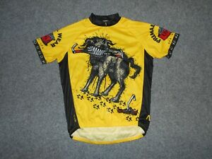 2017 PRIMAL DOG EAT DOG MENS LARGE 25TH ANNIVERSARY CYCLING JERSEY            K8