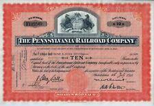 The Pennsylvania Railroad Company, 1946 (10 Shares) Pferde-Vignette
