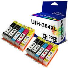 10 Generic CHIPPED Ink 364XL for use in hp B109q B110a B110c B110d B110e printer