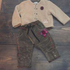 Eliane et Lena Girls Baby Girls 2 Piece Outfit Sweater & Pants Sz 6M