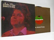 JOHN PRINE diamonds in the rough LP EX/EX, SD 7240, vinyl album, usa, 1972, folk
