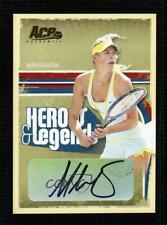 2006 Ace Authentics Heroes & Legends Gold /25 Maria Sharapova #86 Auto