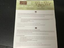 Stampin Up Big Shot Sizzix STARBURST Framelits Dies, discontinued