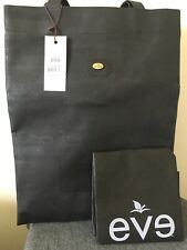 womens eve cork black shopping bag hand made in Portugal NEW
