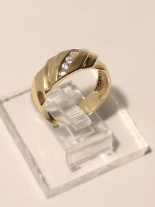 14k Gold Ring With CZ