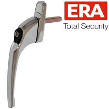 UNIVERSAL ERA CHROME UPVC WINDOW HANDLE Espag Silver Locking Replacement PVC