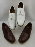 Ferro Aldo Shoes Smith Men's Lace-Up Embossed Upper Oxford Dress Shoes