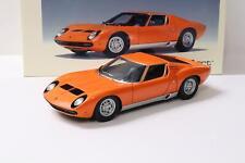 1:18 AUTOart Lamborghini Miura SV Coupe orange