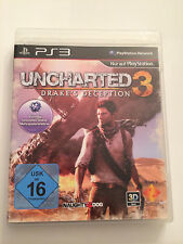 PS3 SPIEL - Uncharted 3: Drake's Deception