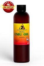 EMU OIL AUSTRALIAN ORGANIC TRIPLE REFINED 100% PURE PREMIUM PRIME FRESH 4 OZ