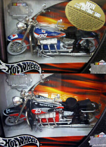 2 - 2001 HOT WHEELS NASCAR BIKES THUNDER MOTORCYCLE RIDES SPRINT CITGO 1:18 NRFB