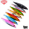 New Fishing Lures Jig Metal Slice Lead Casting Bass Hook Spinning Minnow Baits