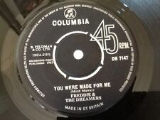 FREDDIE & THE DREAMERS . YOU WERE MADE FOR ME / SEND A LETTER TO ME . 1963