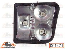 Platine support de feu arrière Droit avec joint NEUF de CITROEN 2cv    - 1471 -