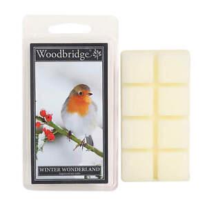 Woodbridge Candle Winter Wonderland 68g Duftwachs Wax Melts 8er Pack