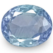 IGI Certified BURMA Blue Sapphire 2.67 Cts Natural Untreated Velvety Blue Oval