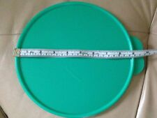 """Tupperware Wonderlier Bowl Replacement Seal 9"""" Double Tabs Teal Green New"""