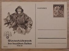 MayfairStamps Germany 1938 Winter Relief Mint Stationery Card wwr13473