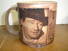 "John Wayne ""The Duke"" Coffee Mug 2005 Wayne Enterprises American Legend"