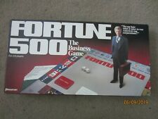 1981 Pressman Fortune 500 The Business Game Complete Board Game/ex cond.