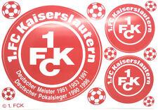 1. FC Kaiserslautern Aufkleber Sticker 3 Logos Bundesliga Fussball #411
