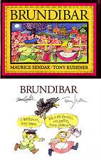 Maurice Sendak Tony Kushner SIGNED AUTOGRAPHED Brundibar RARE HC 1st Ed/1st