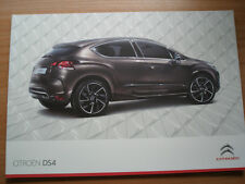 Citroen DS4 range brochure Jul 2011 Irish market