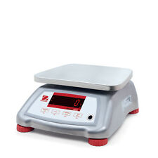 Ohaus Valor V22Xwe3T 3000g 0.5g Water Resistant Compact Food Scale 2Ywarranty