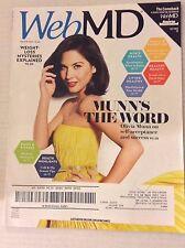 Web Md Magazine Olivia Munn's Self Acceptance January/February 2016 042917nonrh2